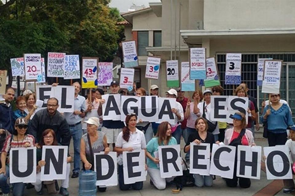 Alcalde de Baruta solicitó a Hidrocapital solventar la crisis de agua en la zona