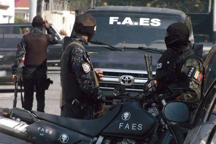 Tres estados acumularon 50% de las 143 muertes a manos de las FAES durante mayo