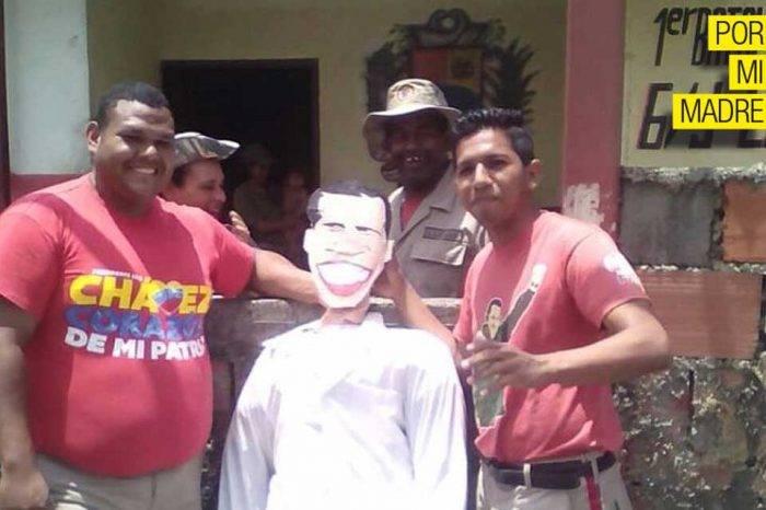 El Gobierno ordenó ponerle la cara de Guaidó a los muñecos de Judas