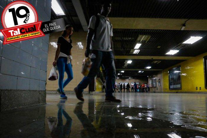 """Diáspora dejó al Metro de Caracas """"más solo que la una"""""""