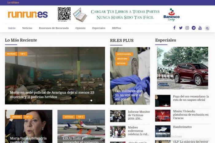 Runrunes es víctima de ataques cibernéticos tras reportaje sobre las FAES