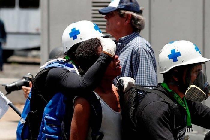 OVCS contabiliza al menos 77 heridos por balas, perdigones y lacrimógenas este #1May