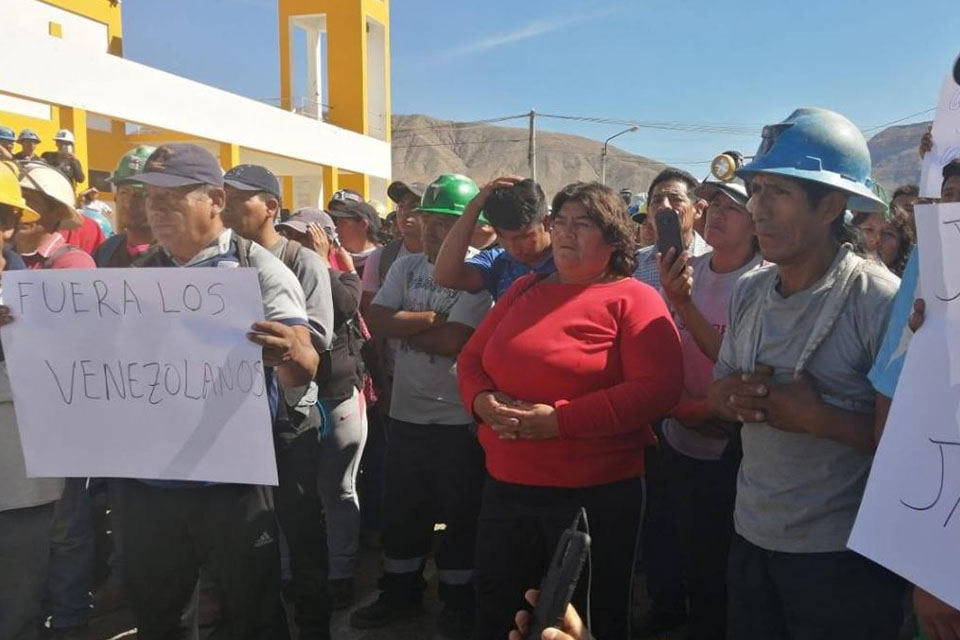 En Perú piden salida de venezolanos