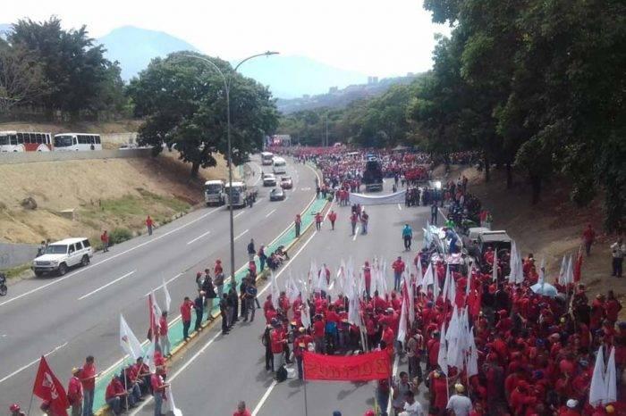 Chavistas 1° mayo