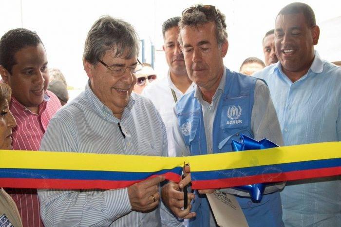 """Gobierno colombiano inaugura primer """"Centro de Atención Integral al Migrante"""" en Riohacha"""