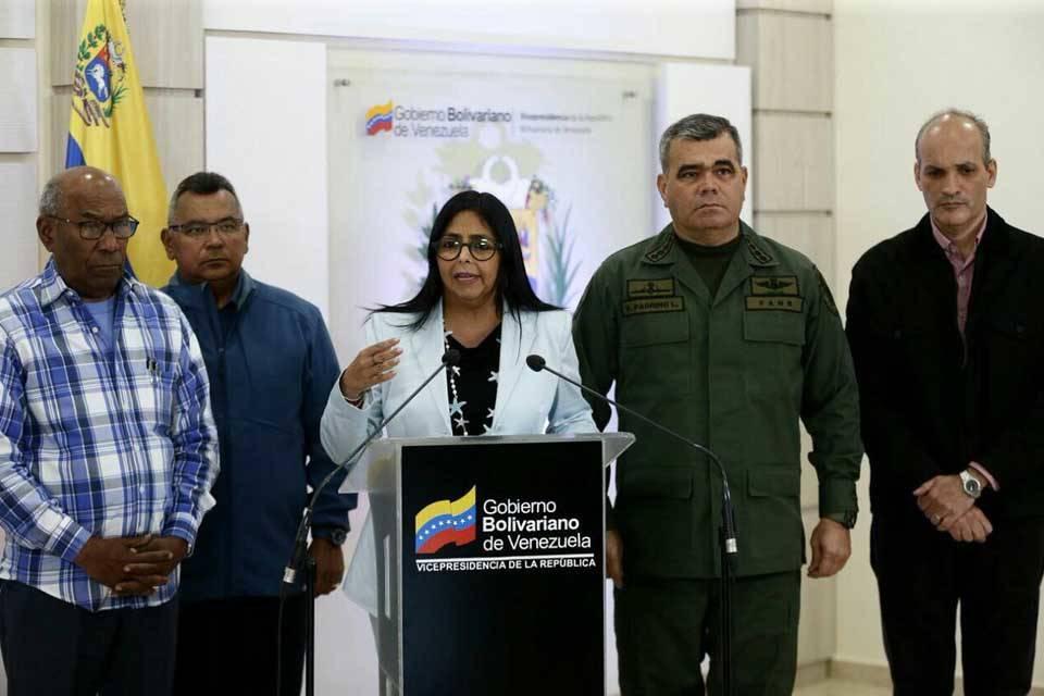 Delcy Rodríguez sobre el coronavirus