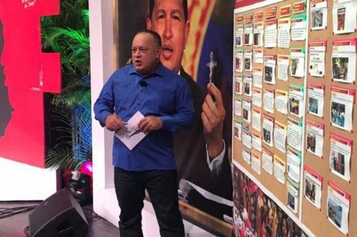"""Cabello sobre supuesto golpe de Estado: """"Tenemos los vídeos de las conferencias"""""""