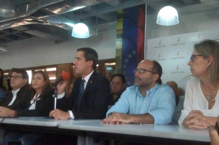 Guaidó celebra un mayor apoyo de internacional tras acciones contra la AN