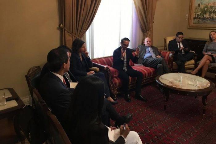 Embajadores de países europeos se reunieron con Juan Guaidó antes de la sesión del #7May