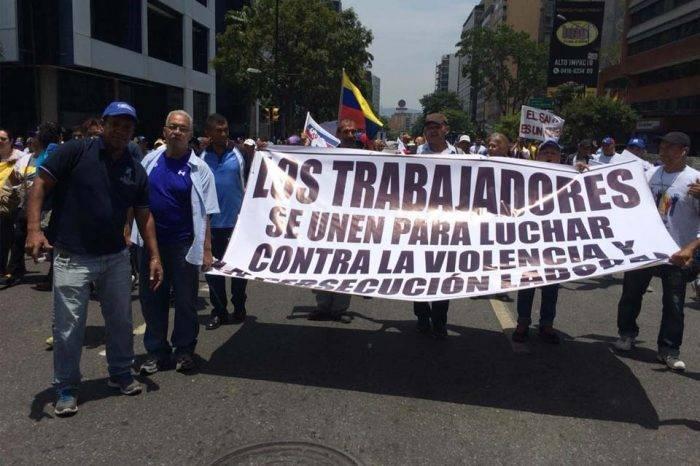 Libertad para Rubén González y todos los trabajadores presos exigieron este #1May