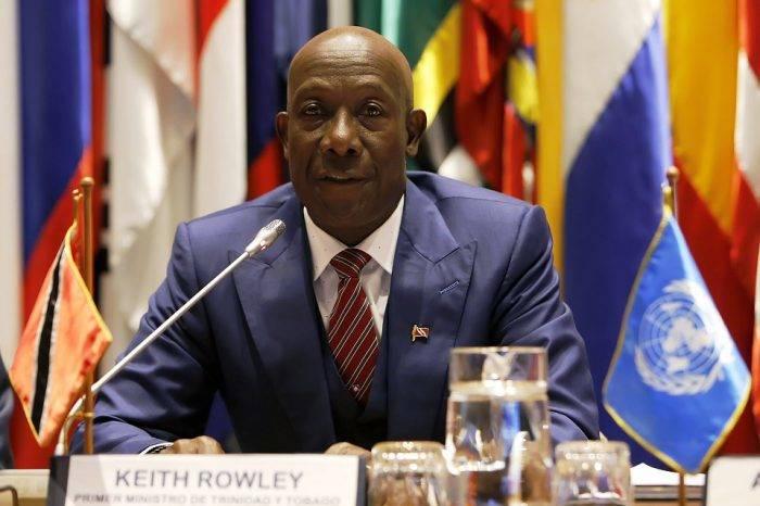 Primer Ministro de Trinidad y Tobago, Keith Rowley