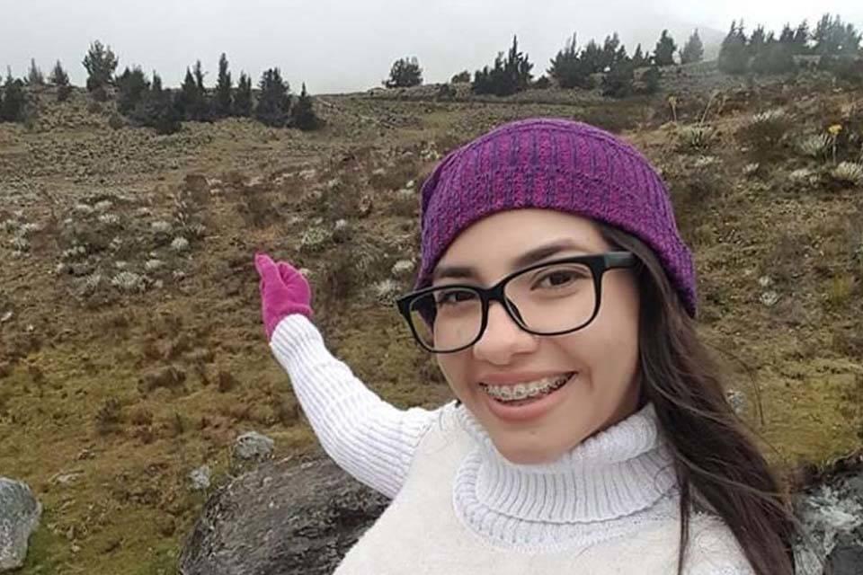 Kelly Zambrano desaparecida en naufragio