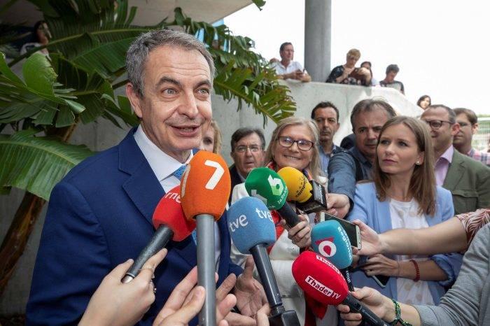 """Zapatero exige un """"acuerdo"""" para Venezuela y critica al Gobierno de Trump"""