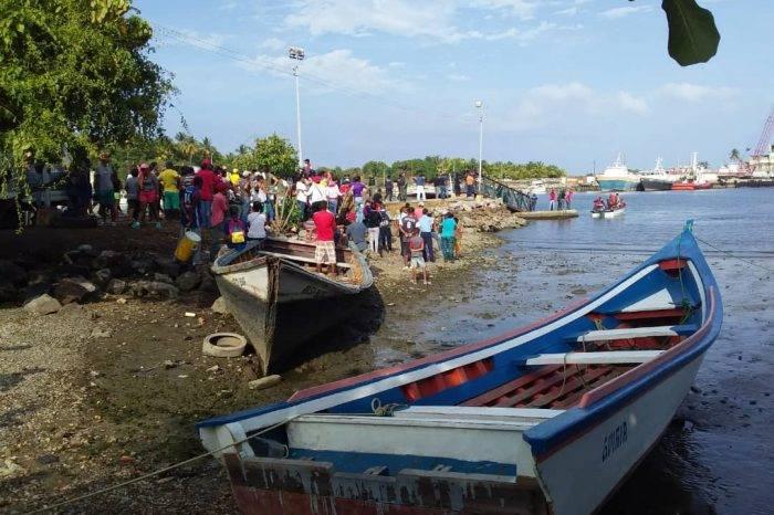 Exigen en Fiscalía retomar búsqueda de náufragos desaparecidos entre Güiria y Trinidad