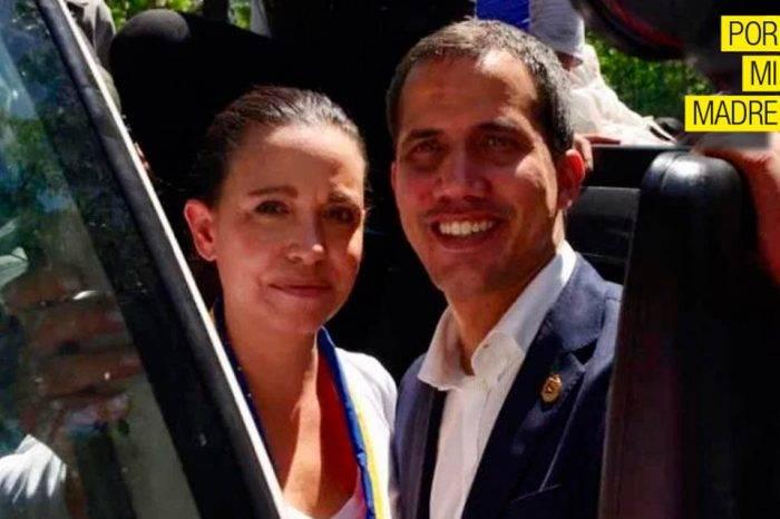 ¿Y la foto de María Corina el 30 de abril?