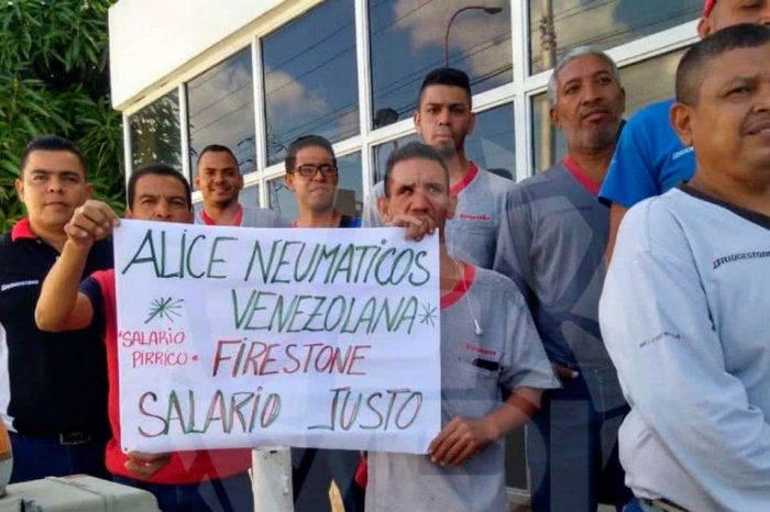 Gobierno de Maduro despidió a 251 empleados de Alice Neumáticos de Venezuela