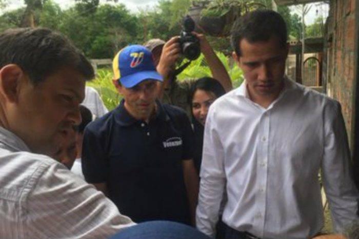Guaidó pide que se avance en el juicio internacional contra Maduro