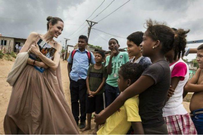 Angelina Jolie: 20.000 niños venezolanos están en riesgo de ser apátridas