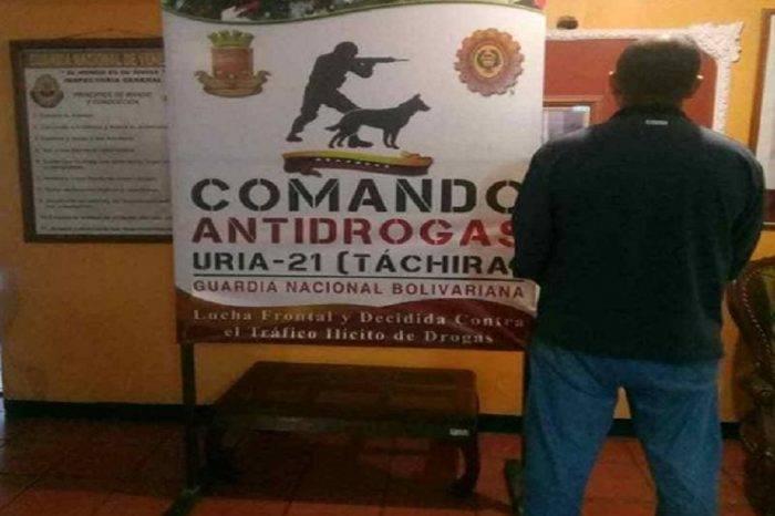 Detuvieron a un jefe del INTI Táchira por presunto vínculo al narcotráfico