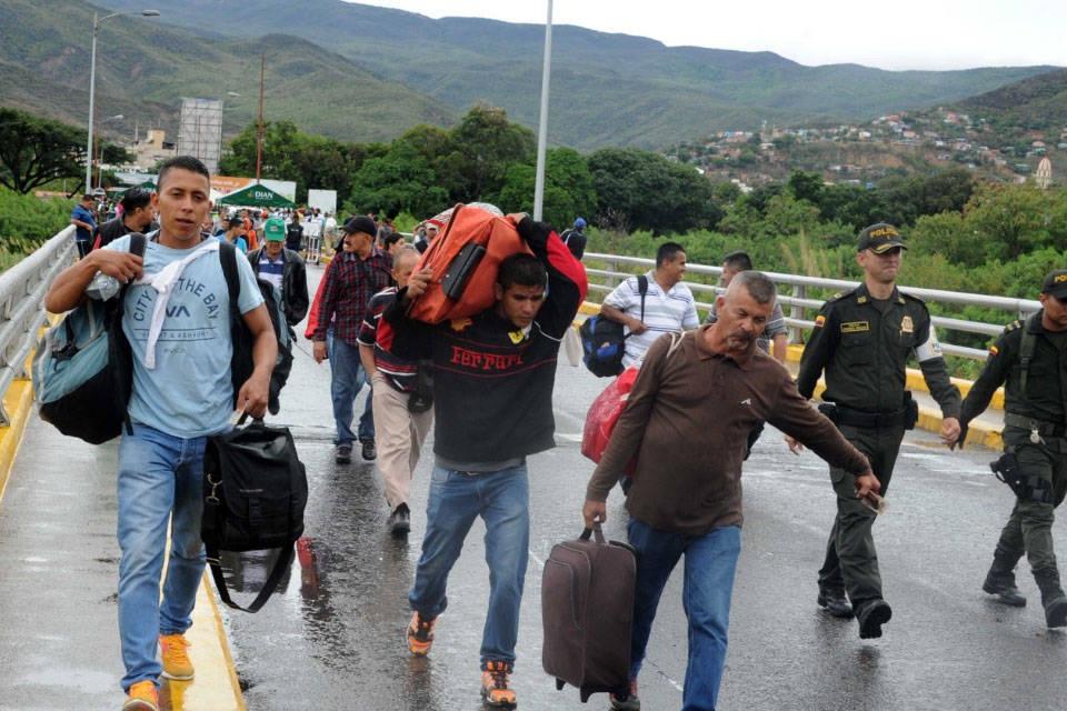 migrantes venezolas colombia