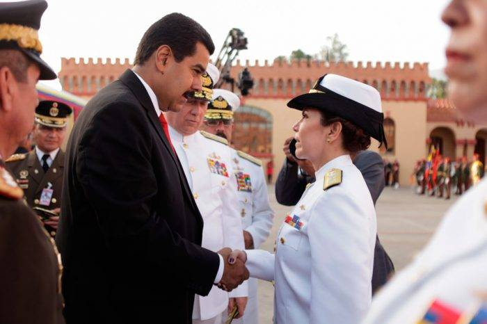 Maduro ascendió a 15 vicealmirantes que ostentan mandos en la Fuerza Armada
