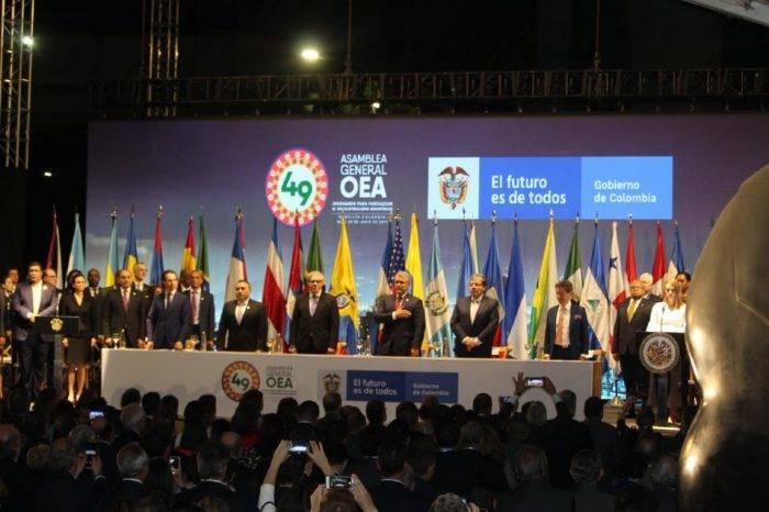 OEA busca aumentar la presión sobre Maduro en su asamblea en Colombia