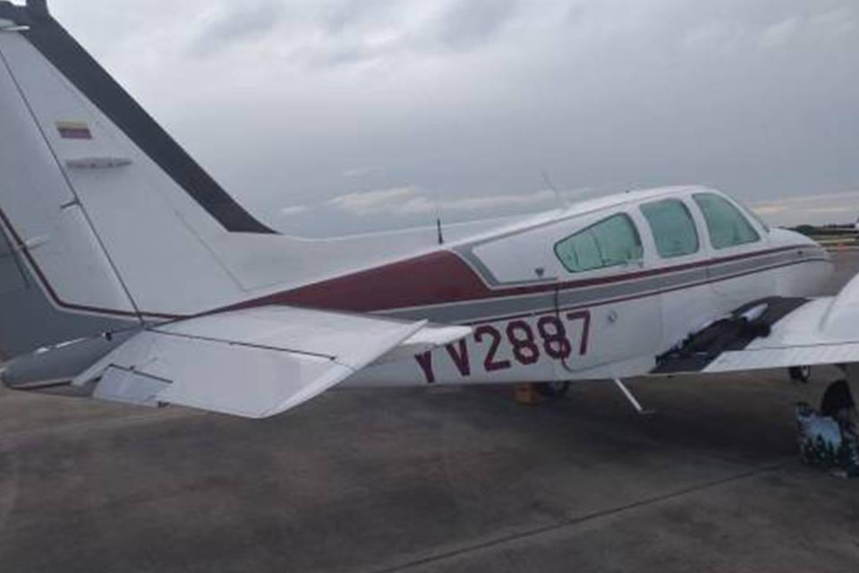 Avión detenido en R. Dominicana