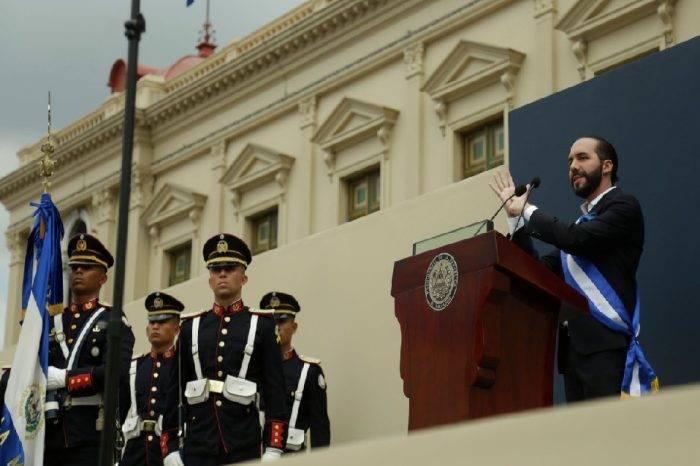 Nayib Bukele asumió como presidente de El Salvador