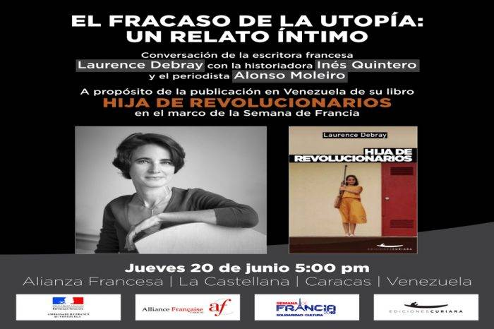 Laurence Debray presenta en Caracas su libro Hija de revolucionarios
