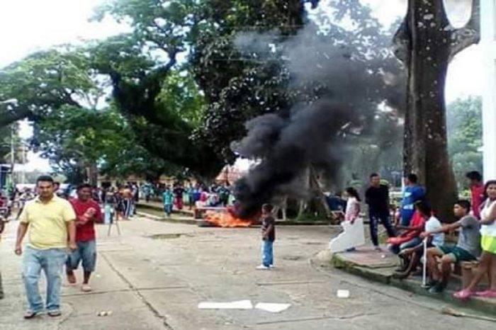 San Fernando de Atabapo en rebelión civil ante la ineficiencia de las autoridades