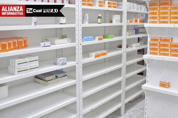 Cada vez menos medicinas: producción se redujo casi la mitad en solo un año