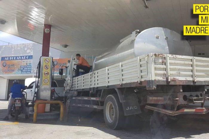 Guardia Nacional: colearse por gasolina es su divisa