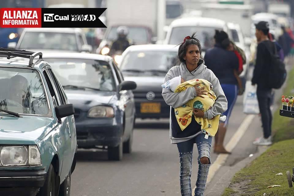 Niños migrantes venezolanos Provea