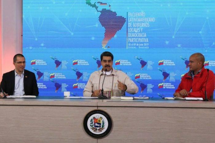 Maduro pretende crear instancia que le haga frente al Grupo de Lima