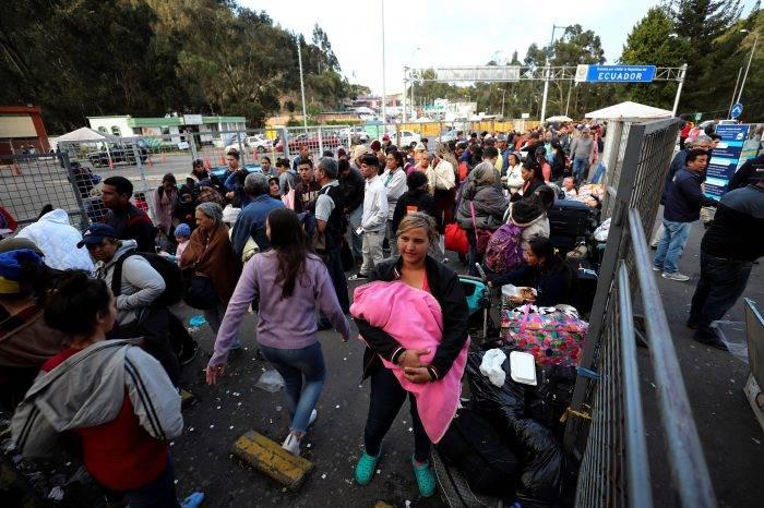 ONG lanza advertencia sobre el recibimiento de los migrantes venezolanos en Ecuador