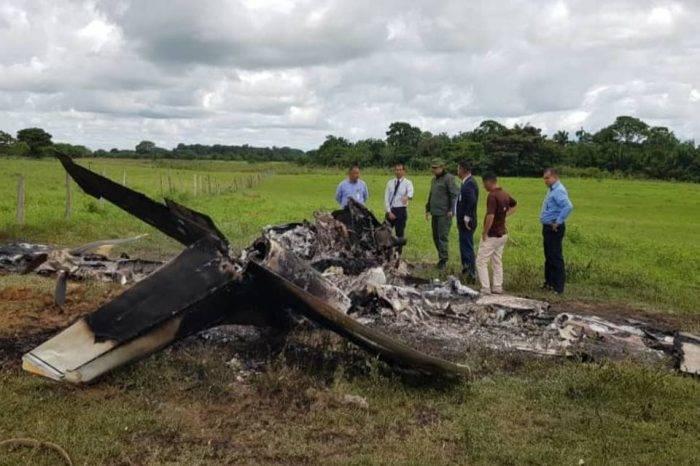 Encontraron avioneta con dos cuerpos calcinados en el estado Barinas