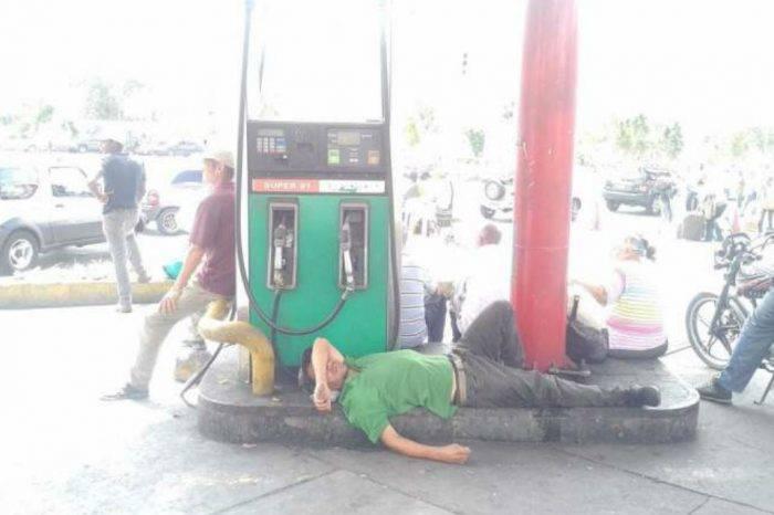 Protestas por escasez de combustible provocan 17 detenciones ilegales, según diputada