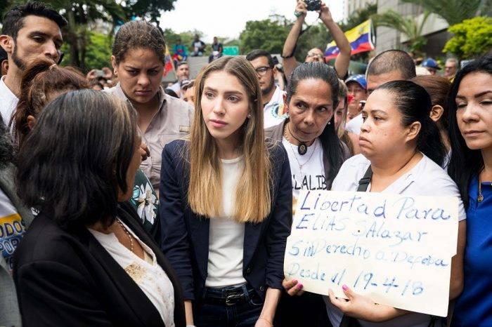 Fabiana Rosales dice que visita de Bachelet es un impulso para que cese la usurpación