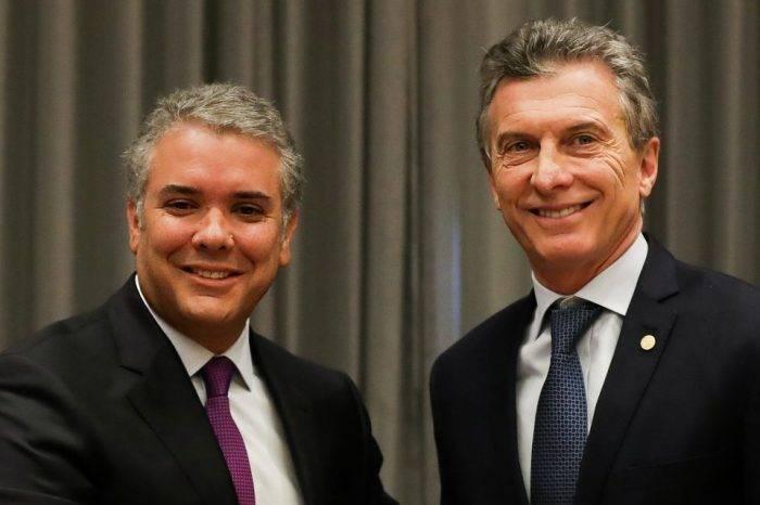 Macri y Duque llaman a la comunidad internacional a apretarle la tuerca a Maduro