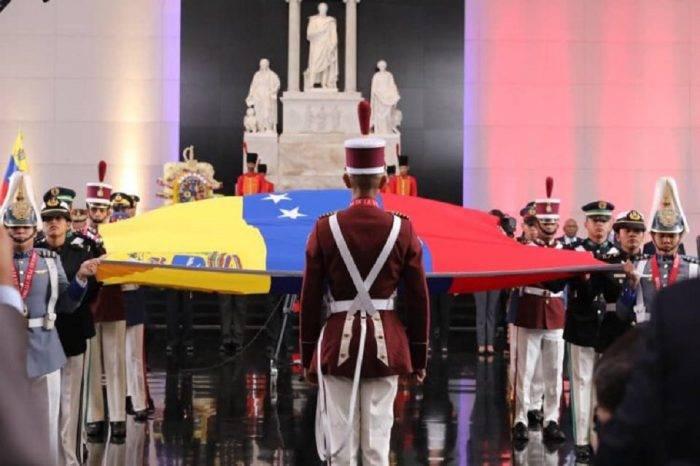 Maduro ausente de actos oficiales y solo participó en corto desfile militar del #5Jul