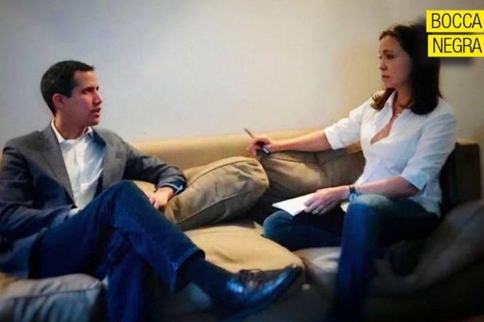 A Guaidó, María Corina lo quiere gobernar