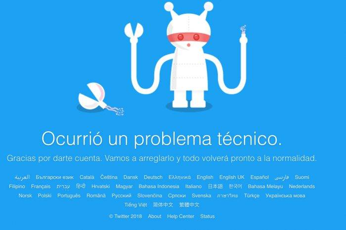 Twitter sufrió caída en varios países del mundo