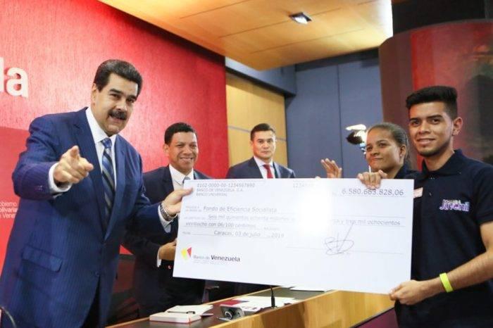 Maduro usa hiperinflación para presumir cifras de créditos otorgados por el BDV