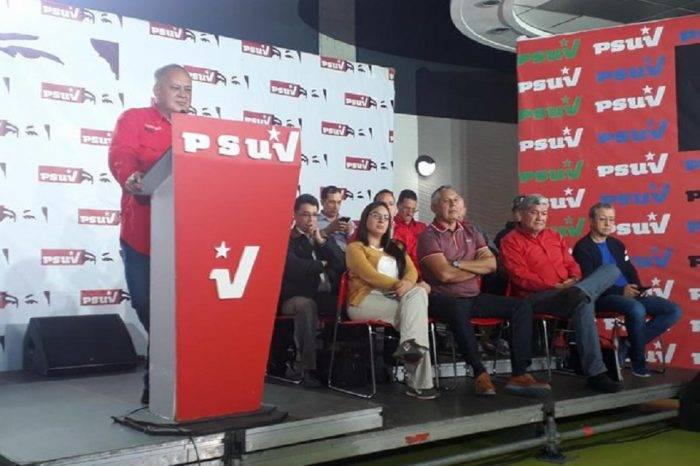 Diosdado Cabello: Con una acción del TIAR diputados se convertirían en un brazo armado