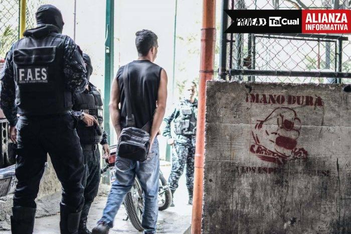 FAES opera como una fábrica de ejecuciones en zonas populares