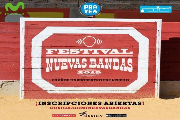 Inician inscripciones para el Festival Nuevas Bandas en su 30 aniversario
