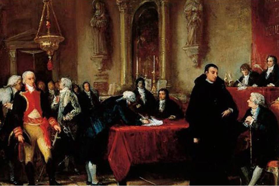 La sociedad patriótica en el 5 de julio de 1811, por Ángel R. Lombardi  Boscán