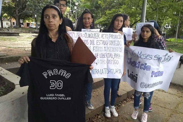 Madre acusa a las FAES del asesinato de su hijo durante una protesta en Táchira