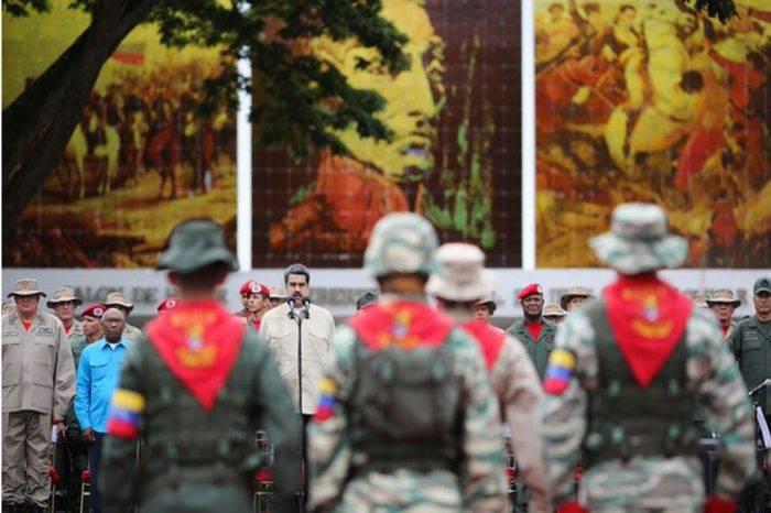 Maduro asegura que la grúa del Sebin está lista para llevarse a traidores del TIAR