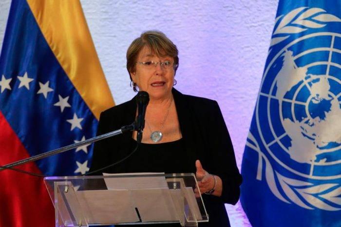 Más sanciones contra Venezuela provocarán más migración, advierte Michelle Bachelet